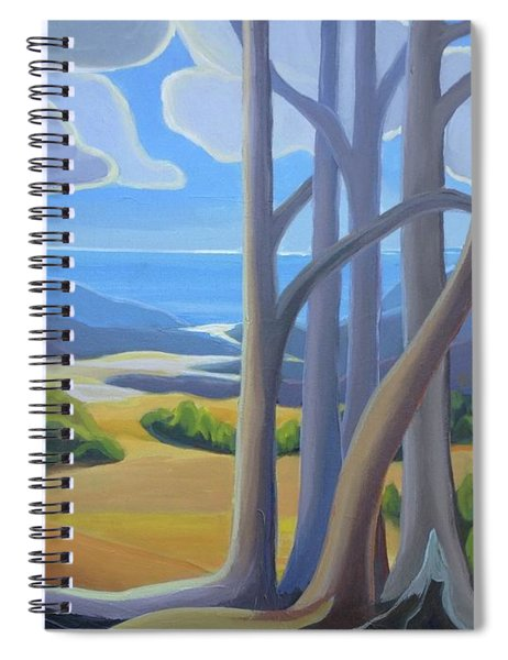 View Of The Lake Spiral Notebook