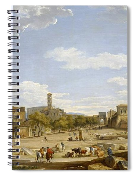 View Of The Roman Forum Spiral Notebook