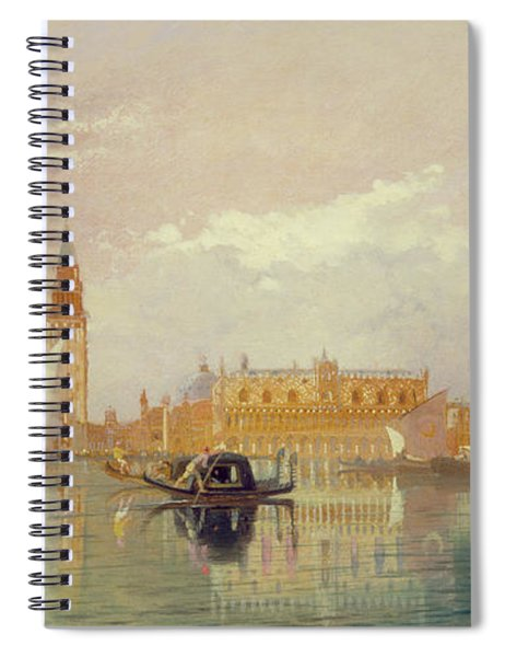 View Of Venice, 1867 Spiral Notebook