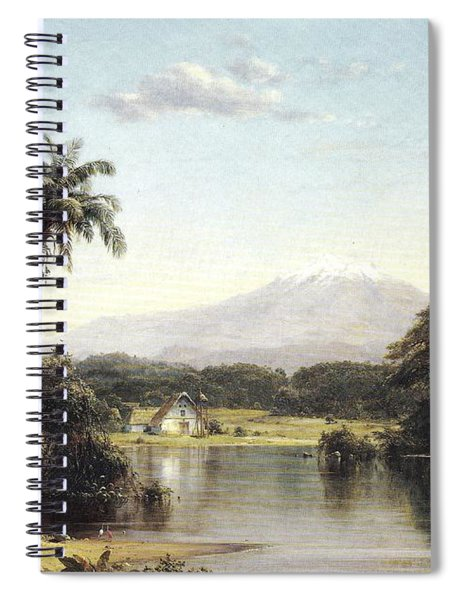 View On The Magdalena River Spiral Notebook