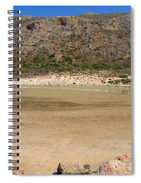 View To Gramvousa Spiral Notebook