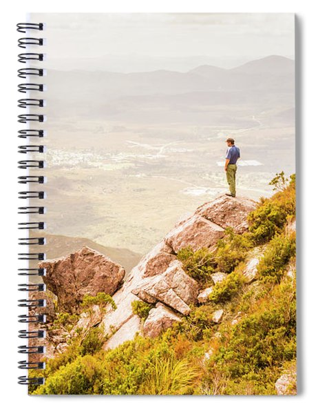 Views On West Coast Tasmania  Spiral Notebook
