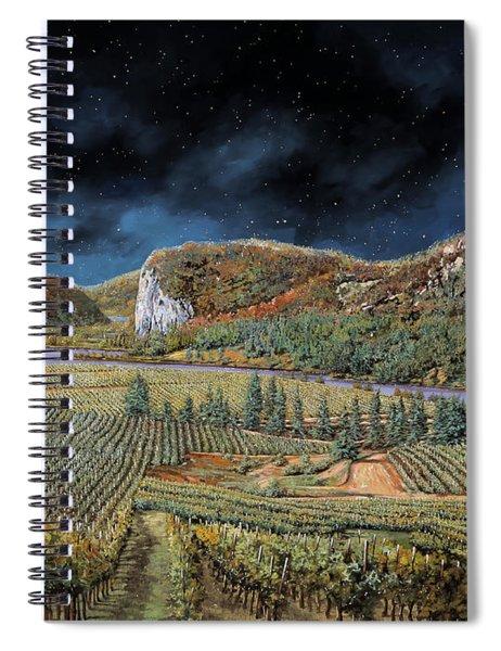 Vigne Nella Notte Spiral Notebook
