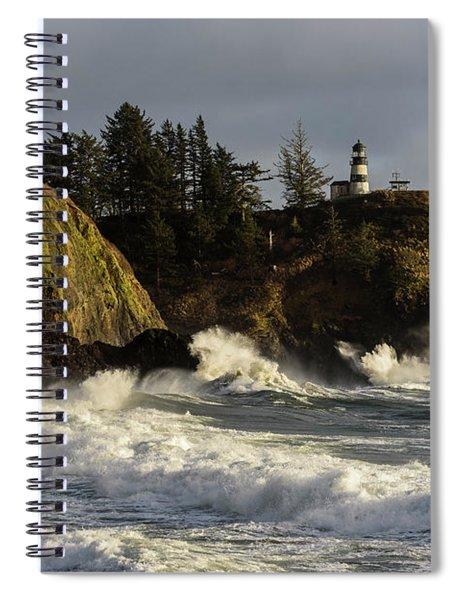 Vigorous Surf Spiral Notebook