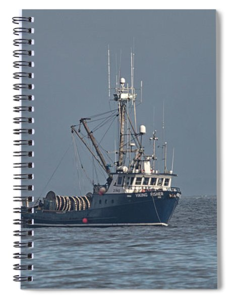Viking Fisher 1 Spiral Notebook