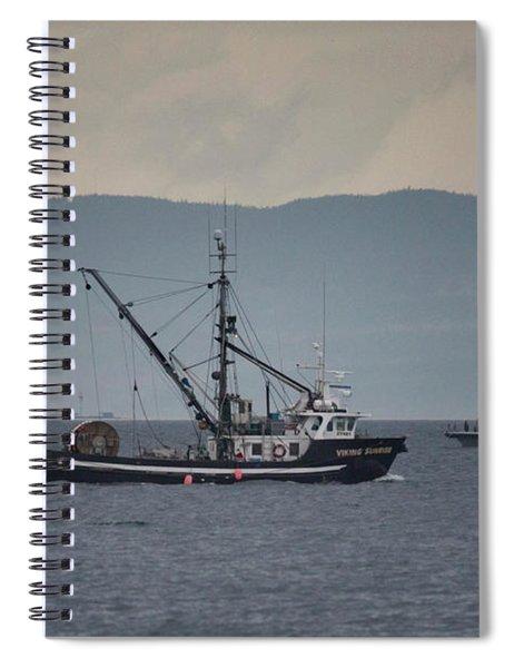 Viking Sunrise Spiral Notebook