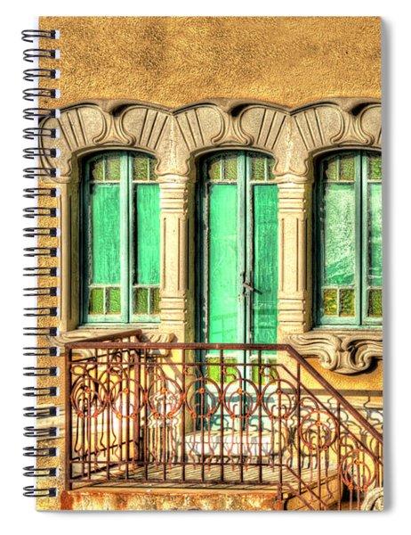 Villa Liberty 3 Spiral Notebook