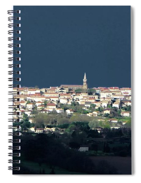 Village Before The Storm Spiral Notebook