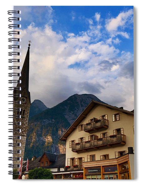 Village Hallstatt Spiral Notebook