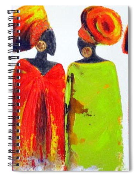 Village Talk Spiral Notebook