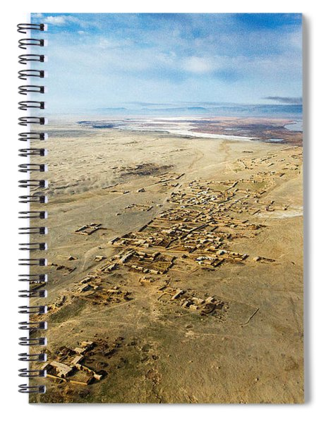Village Toward Amu Darya River Spiral Notebook