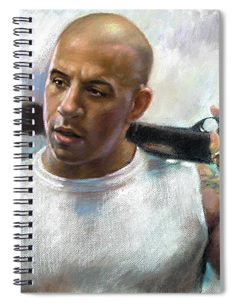 Vin Diesel Spiral Notebook