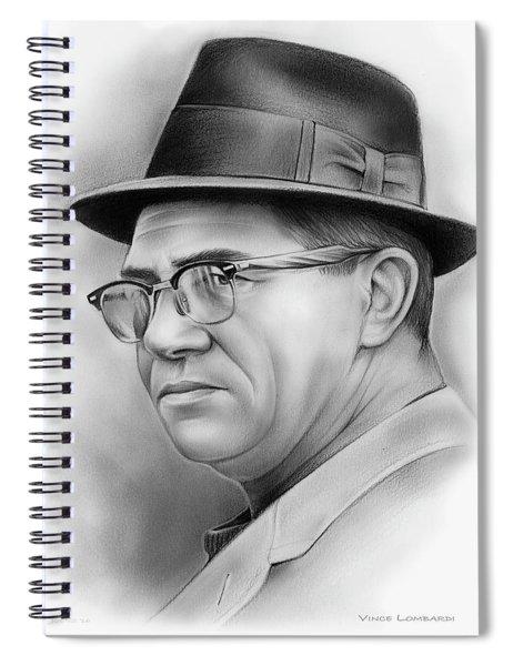Vince Lombardi Spiral Notebook