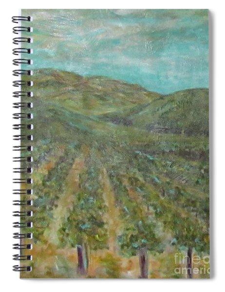 Vineyard #2 Spiral Notebook