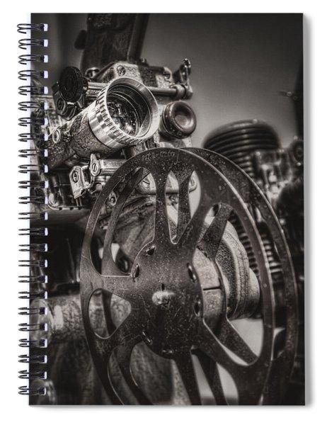 Vintage 16mm Spiral Notebook