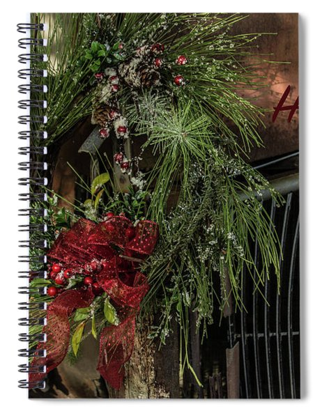 Vintage 40 Ford Truck Christmas Spiral Notebook
