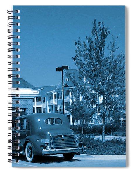 Vintage Automobile Spiral Notebook