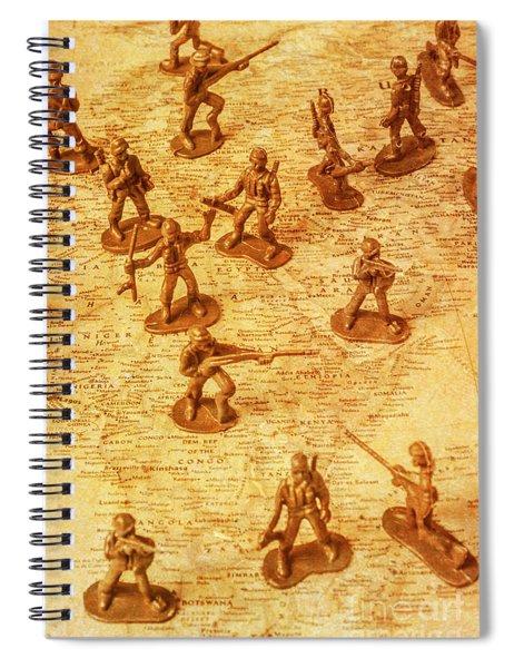 Vintage Battlefront Spiral Notebook