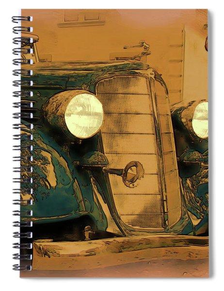 Vintage Buick Spiral Notebook