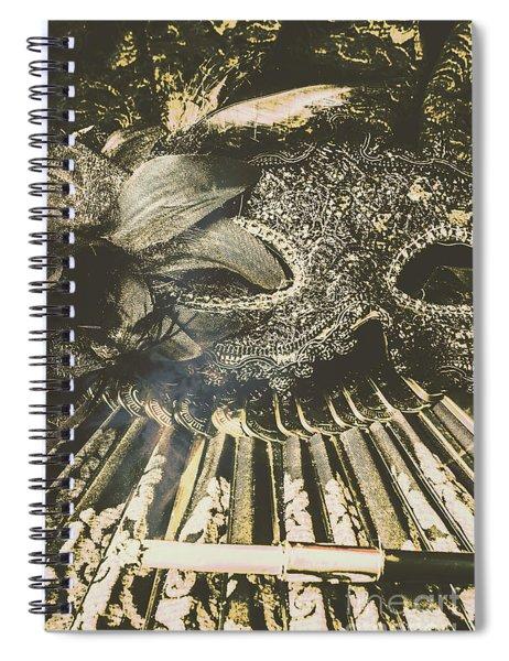 Vintage Cabernet Show Spiral Notebook