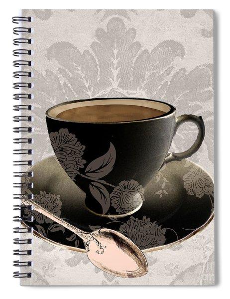 Vintage Cafe IIi Spiral Notebook