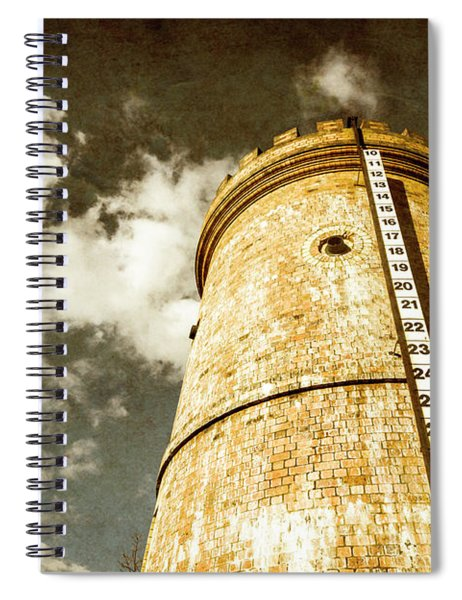 Vintage Evendale Water Tower Spiral Notebook
