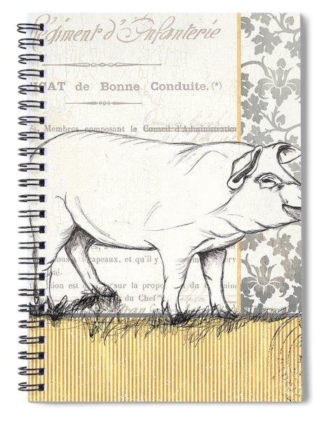 Vintage Farm 2 Spiral Notebook