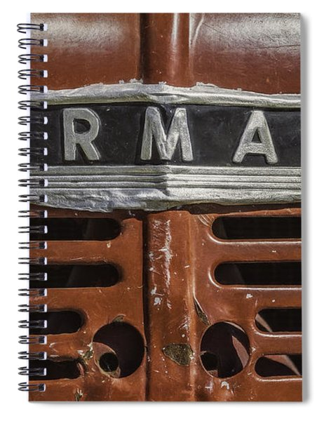 Vintage Farmall Tractor Spiral Notebook