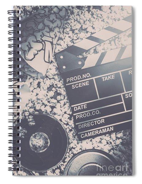Vintage Film Production Spiral Notebook