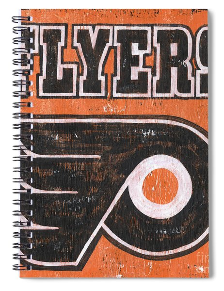 Vintage Flyers Sign Spiral Notebook