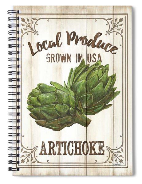 Vintage Fresh Vegetables 2 Spiral Notebook