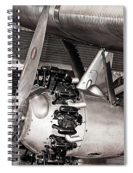 Vintage History Spiral Notebook