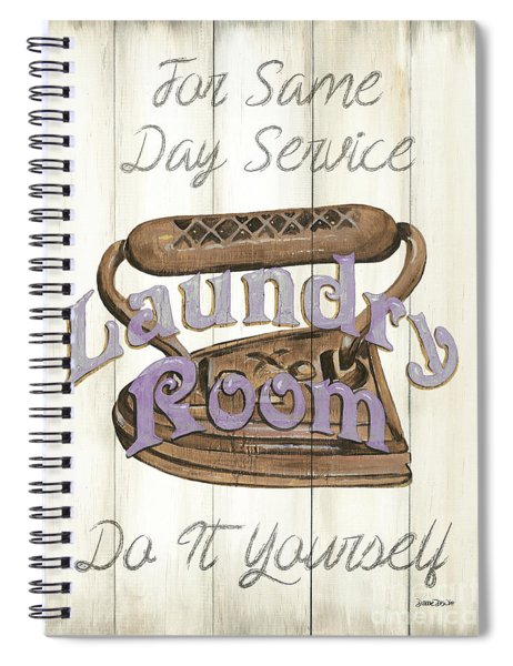 Vintage Laundry Room 1 Spiral Notebook