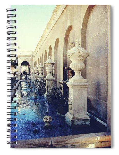 Vintage Longwood Gardens Fountains Spiral Notebook
