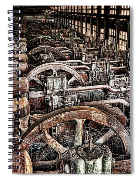 Vintage Machinery Spiral Notebook
