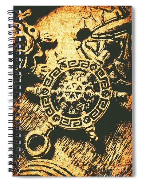 Vintage Maritime Design Spiral Notebook