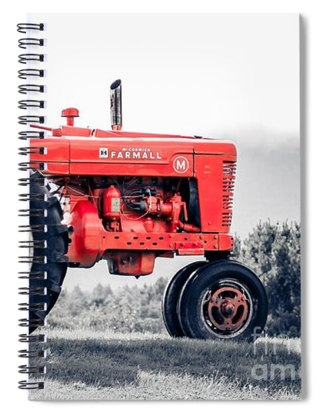 Vintage Mccormick Farmall Tractor Spiral Notebook