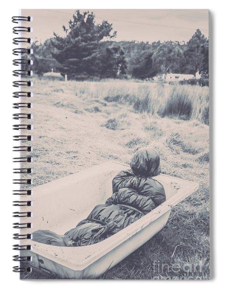 Vintage Murders Spiral Notebook