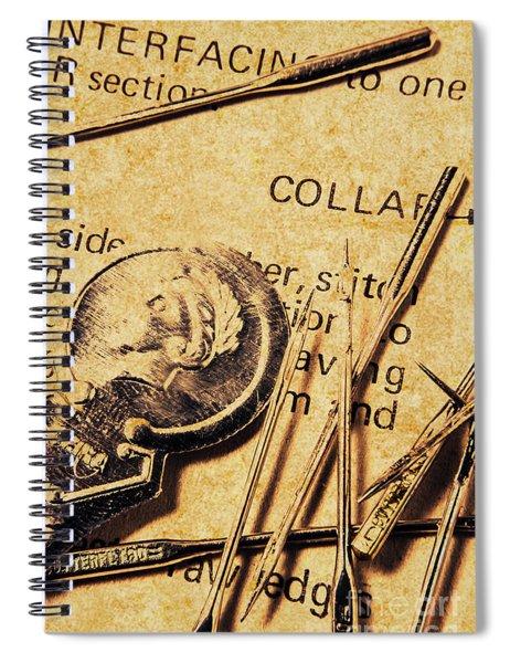 Vintage Quick Stitch Spiral Notebook