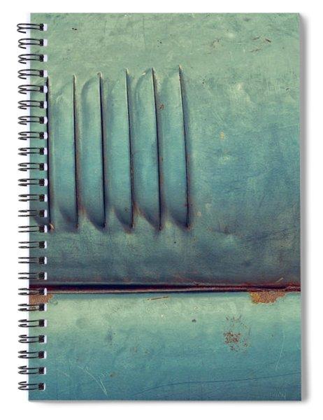 Vintage Russian Side Spiral Notebook