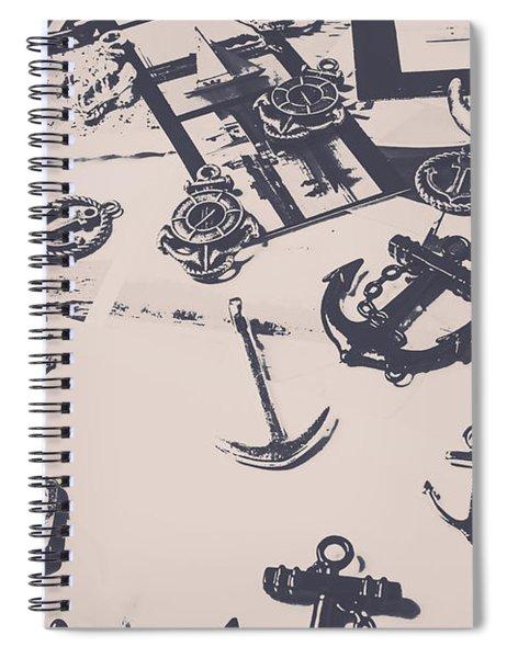 Vintage Sailing Art Spiral Notebook