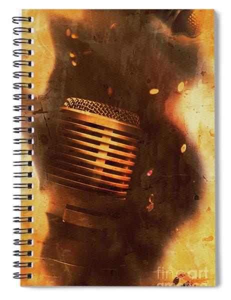 Vintage Sound Check Spiral Notebook