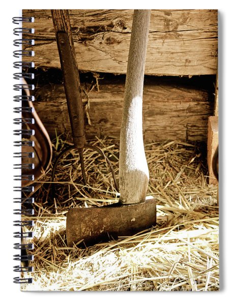 Vintage Tools Spiral Notebook