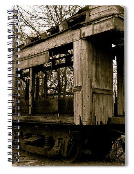 Vintage Train Spiral Notebook