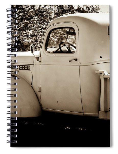 Vintage Truck 2 Spiral Notebook