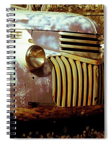 Vintage Truck Spiral Notebook