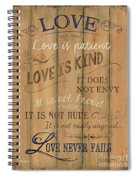 Vintage Wtlb Love Spiral Notebook