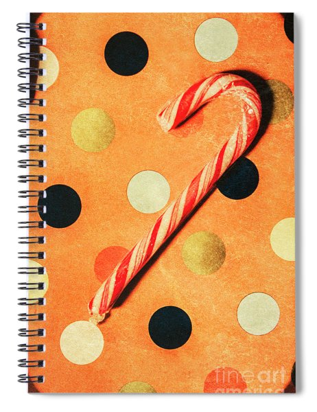 Vintage X-mas Art Spiral Notebook