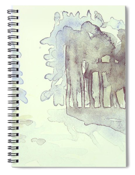 Vintrig Skogsglanta, A Wintry Glade In The Woods 2,83 Mb_0047 Up To 60 X 40 Cm Spiral Notebook