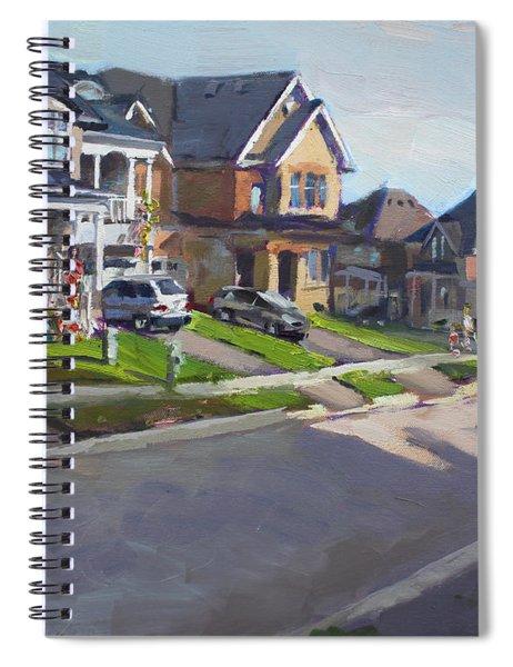 Viola's House In Georgetown On Spiral Notebook